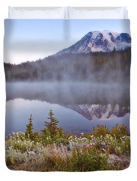 Rainier Morning Duvet Cover