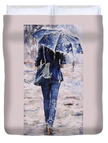 Rainy Day #22 Duvet Cover