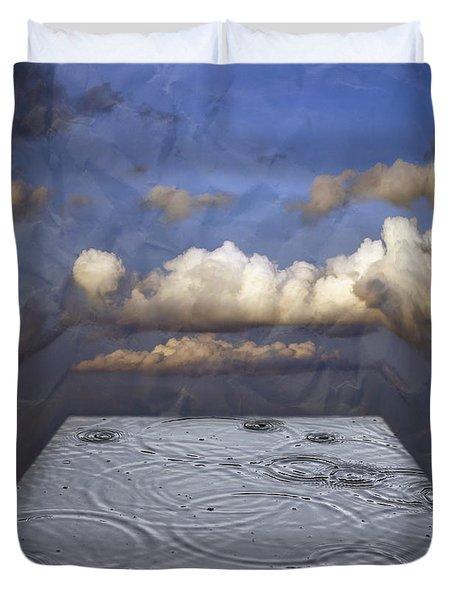 Rainy Day Duvet Cover by Michal Boubin