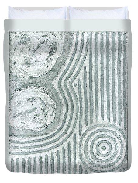 Raked Zen Whirlpool Duvet Cover