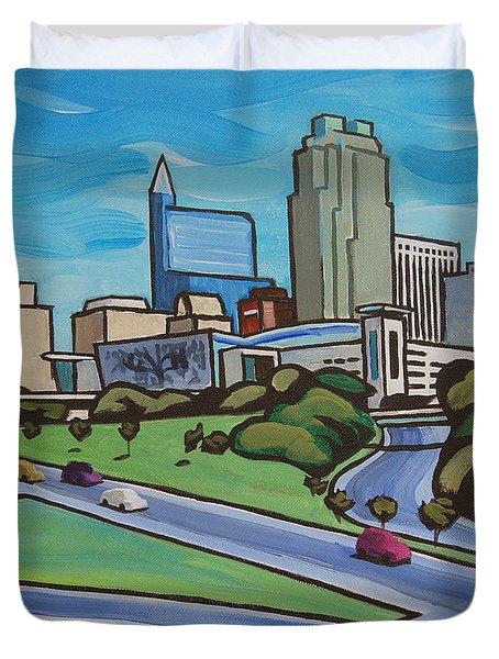 Raleigh Skyline 2 Duvet Cover