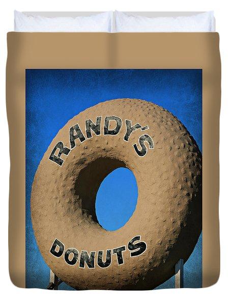 Randy's Big Donut Duvet Cover