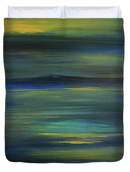 Rangeley Duvet Cover by Dick Bourgault