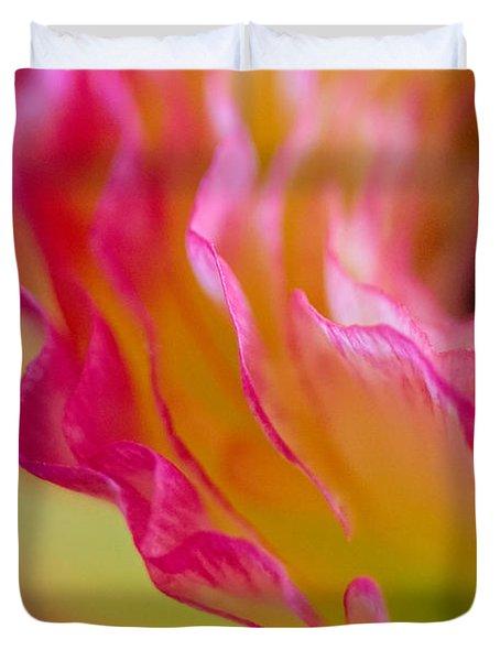 Ranunculus Ruffles Duvet Cover