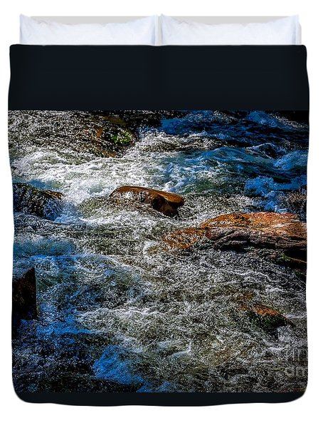 Rapids On The Gore Duvet Cover