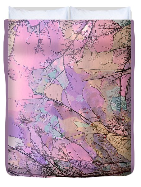 Duvet Cover featuring the photograph Rapture by Kathy Bassett