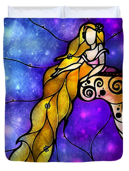 Rapunzel Duvet Cover