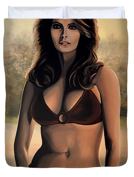 Raquel Welch 2 Duvet Cover