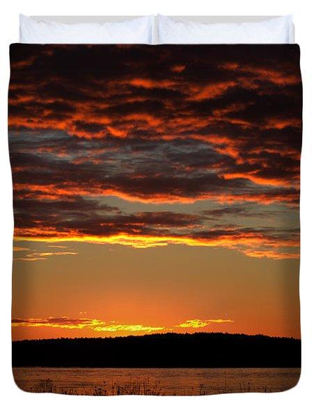Rathtrevor Sunrise Duvet Cover