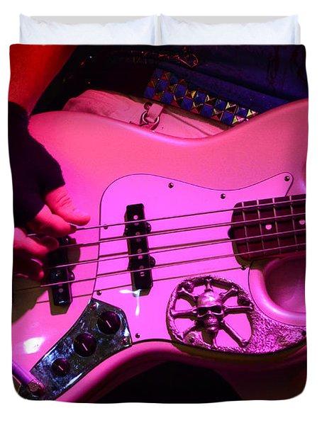 Raunchy Guitar Duvet Cover by Bob Christopher