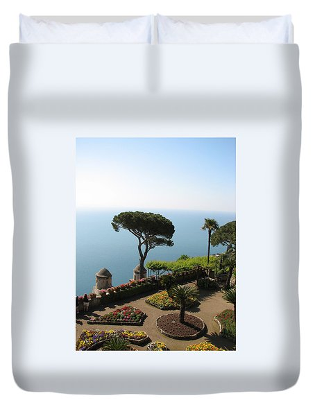 Duvet Cover featuring the photograph Ravello by Carla Parris