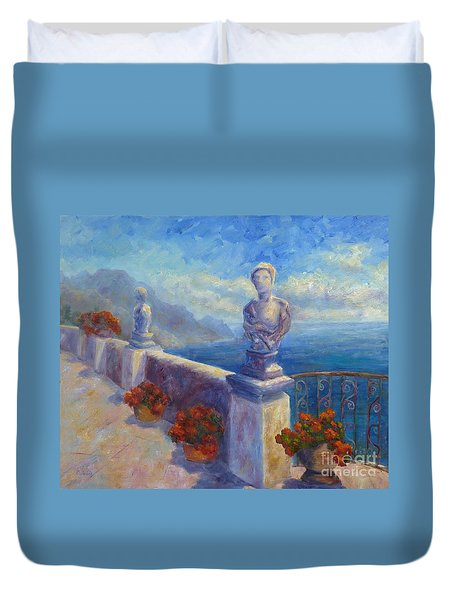 Ravello View Duvet Cover