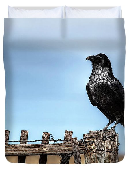 Ravenous Pride Duvet Cover