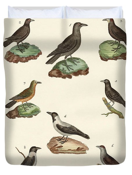 Ravens Crows And Daws Duvet Cover