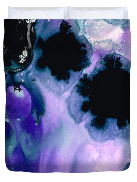 Raven's Dream Duvet Cover by Sharon Cummings