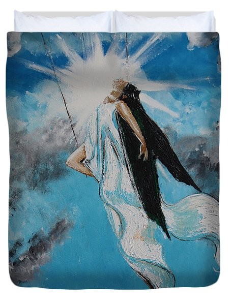 Ravesencion Duvet Cover