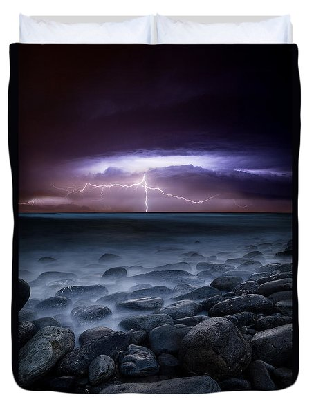 Raw Power Duvet Cover
