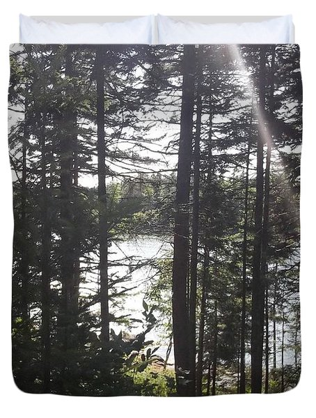 Ray O Light Duvet Cover by Melissa McCrann