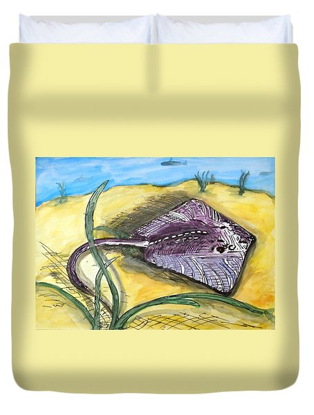 Ray Duvet Cover