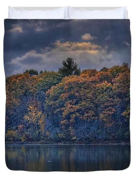 Rayons D'automne Duvet Cover