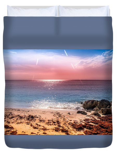 Rays Of Light Duvet Cover