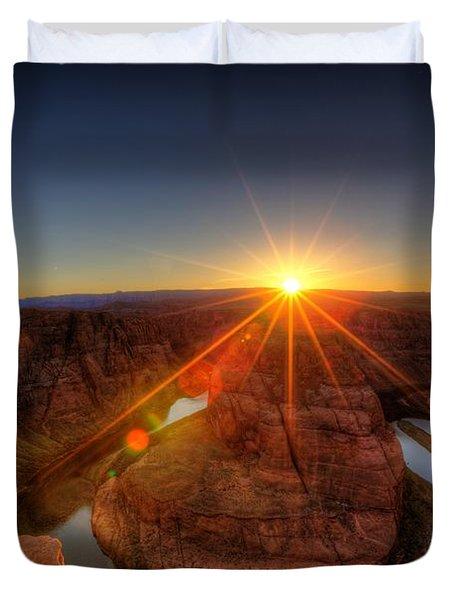 Rays Of Sunshine Duvet Cover