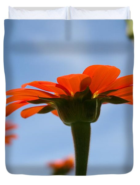 Reach For The Sky Duvet Cover by Neal Eslinger
