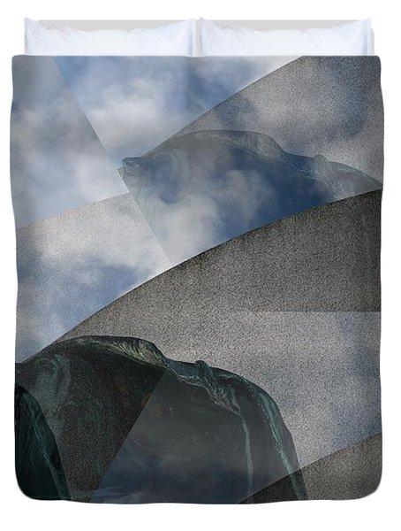 Reaching Heaven Duvet Cover