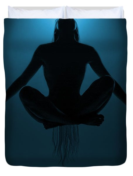 Reaching Nirvana.. Duvet Cover