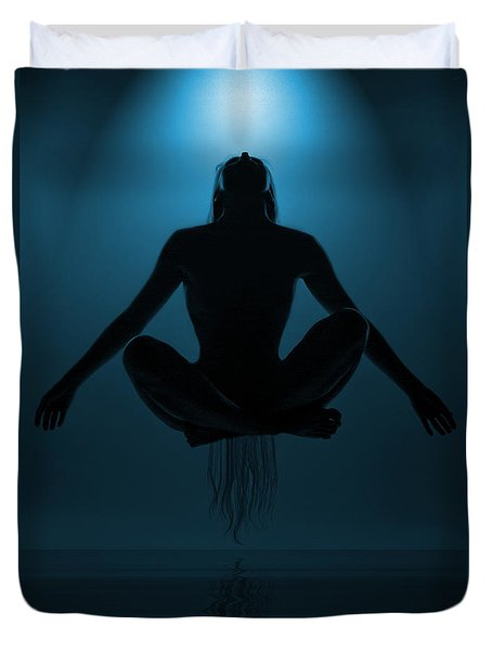 Reaching Nirvana.. Duvet Cover by Nina Stavlund