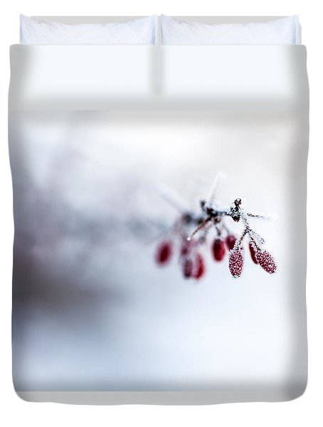 Reaching Out Duvet Cover