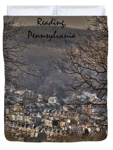 Reading Pennsylvania Duvet Cover