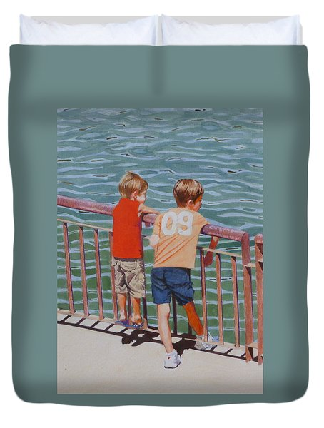 Ready For A Dip Duvet Cover