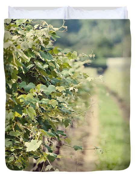 Ready For Harvest  Duvet Cover by Lisa Russo