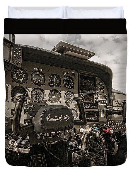 Ready For Takeoff Duvet Cover