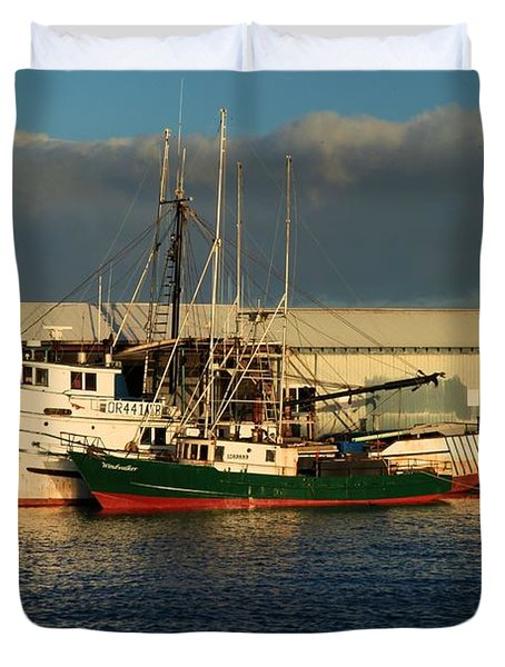Ready For The Day Duvet Cover by Adam Jewell