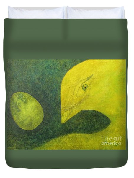 Ready To Emerge Duvet Cover