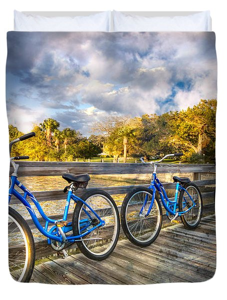 Ready To Ride Duvet Cover