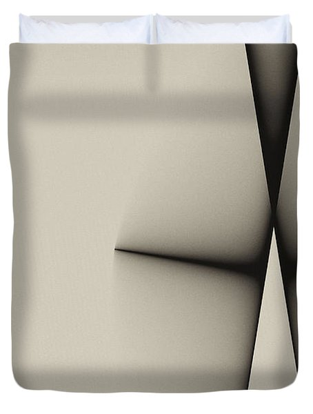 Rear View Duvet Cover by GJ Blackman