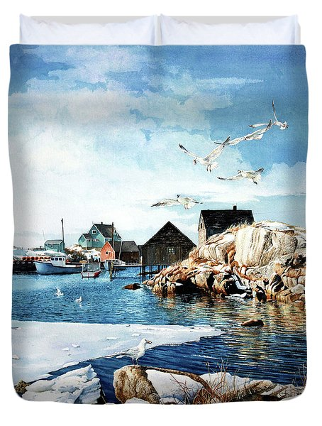 Reason To Believe Duvet Cover by Hanne Lore Koehler