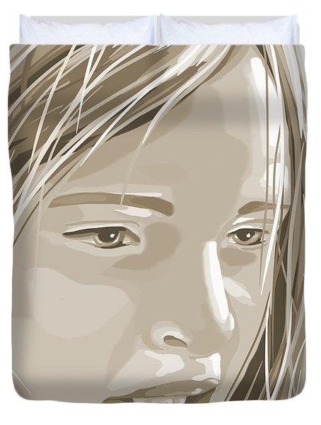Rebecca Duvet Cover by Veronica Minozzi