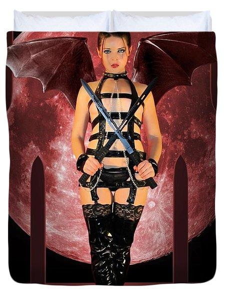 Rebel Demon Duvet Cover