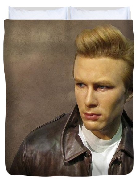 Rebel Without A Cause Duvet Cover