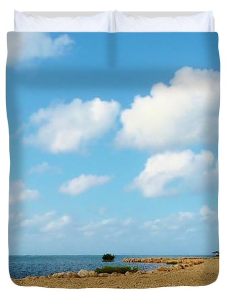 Duvet Cover featuring the photograph Reclamation 8 by Amar Sheow
