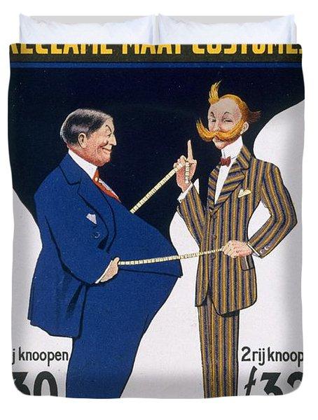 Reclame Maat Costumes, Poster Duvet Cover