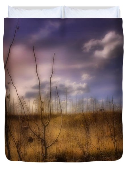 Duvet Cover featuring the photograph Recovery by Ellen Heaverlo