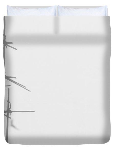 Rectangles And Shadows Duvet Cover