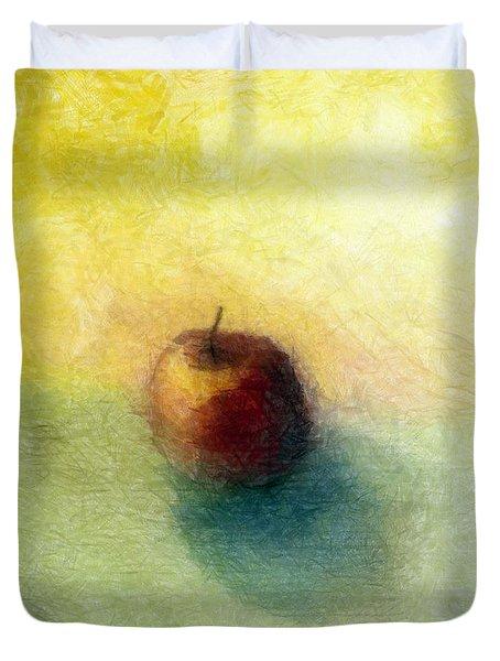 Red Apple No. 4 Duvet Cover
