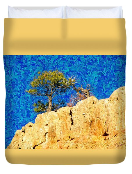 Red Canyon - Dixie National Forest Duvet Cover