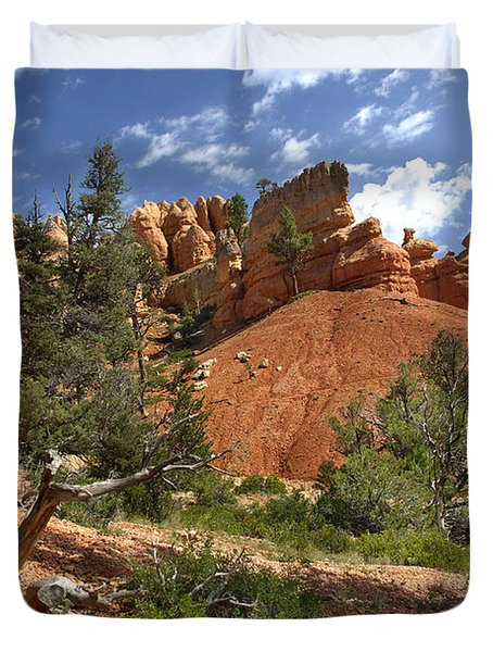 Red Canyon Duvet Cover